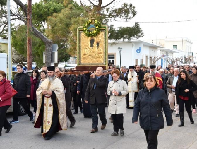 Icon Procession, March 2020