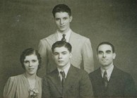 The Panaretos family in the early 1940's