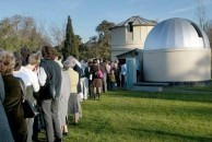 The Transit of Venus. Crowds gather at the Melbourne Observatory.