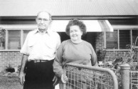 Xenophon Stathis with his wife Patricia (nee, Fleming), Wagga Wagga, NSW, 1989.