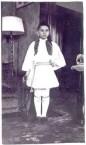 Minas Theodore Georgopoulos- in Evzone costume