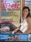 Claudia Karvan. Cover Girl of life etc magazine. Issue 1.