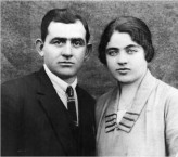 Nicholas and Marianthi Syrmis at Townsville in about 1930.