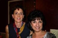 Elaine Moulos & Vikki Fraioli at annual Kytherian Luncheon