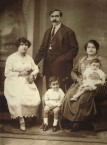 Vassilis Georgopoulos and wife Panagiotitsa (nee, Margetis)