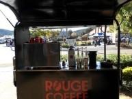The Rouge Coffee 'hut' - outside the Roxy Cafe Bingara