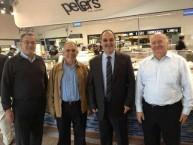 George Poulos, Michael Mallos, Theothori Koukoulis & Con Poulos