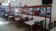 A return to the old style seating at the Canberra cafe, Manilla