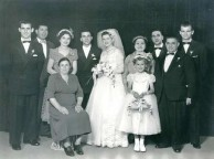 Wedding Party - Stephen & Anna Zantiotis 1956