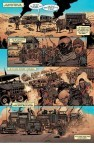 Mad Max: Fury Road. Comic. Interior art by Riccardo Burchielli
