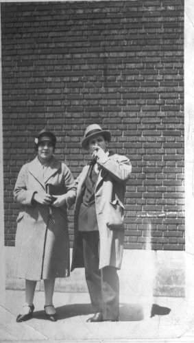 Mr. and Mrs. Nicholas Gavriles. Michigan 1920's