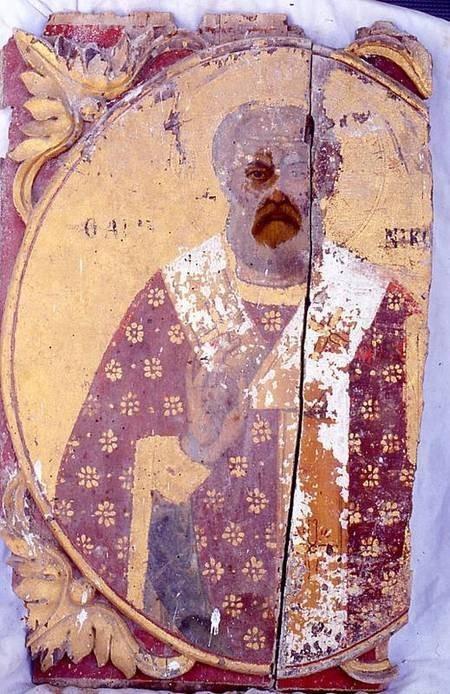Icon 4 before restoration