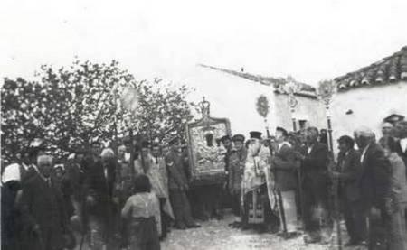 procession of the icon Myrtiodyssa