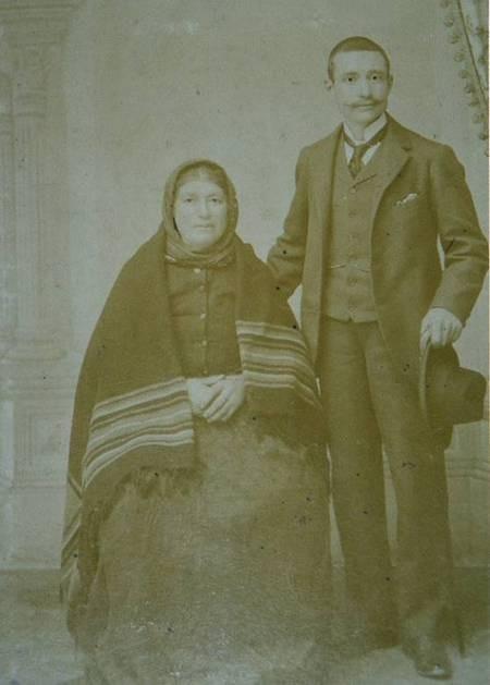 Spiros and Maria Panaretos circa 1908