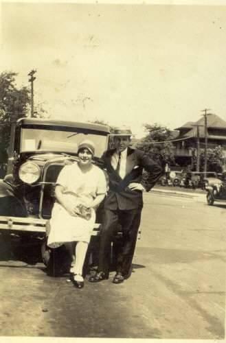 Mr. and Mrs Nicholas Gavriles-Highland Park, Michigan