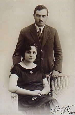 Valerios and Maria Kalokairinos(Calocerinos) Hora