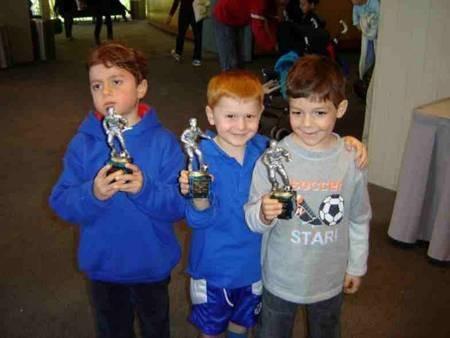Peter Stevens, William Lynch, & Peter Parras. Future Australian-Greek-Kytherian soccer stars