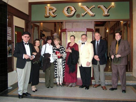 Descendants and friends of Roxy Theatre founder, Peter Feros.