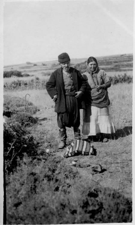 Couple outside Potamos