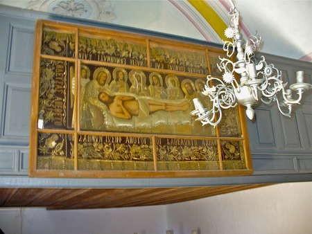 Religious art work, Agios Anargrios, Potamos