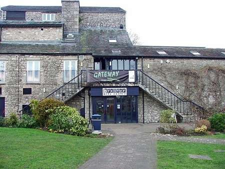 Kendal's Brewery Arts Centre, the main venue for the Kendal Mountain Festival