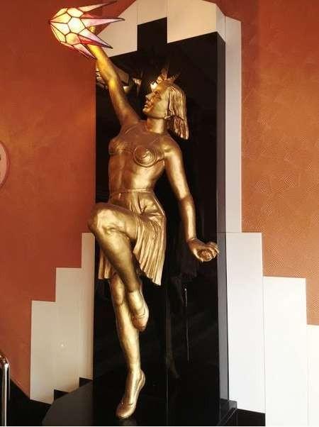 Beautiful art deco furnishing in the Cremorne Orpheum
