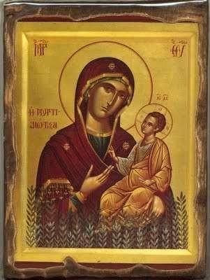 Yet another icon of Panagia Myrtidiotissa