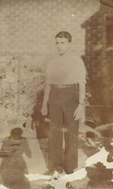 Stephen Zantiotis about 1944