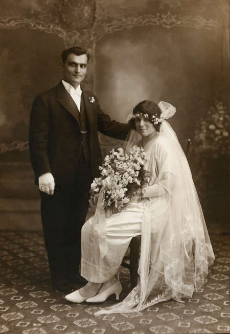 Bylos-Tzortzopoulos Wedding August 1923