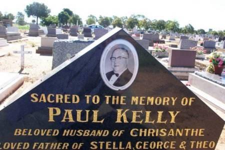 Paul Kelly. Obituary. - Gilgandra Paul Kellys upper headstoneSMALL