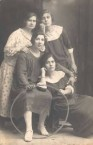 My Mother with Aunt and 2 friends-Smyrna