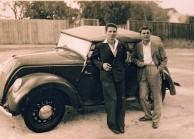 Panaretos brothers in Glen-Innes c1943