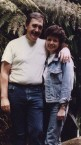 Fran Collyer and her life partner, Peter Sophios
