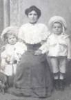 Maria Fatseas with sons Dimitrios (James) and Nicolaos