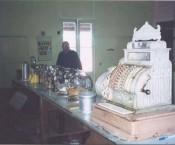 Cassimatis General Store - Muttaburra - original cash register and lolly counter.