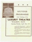Walgett. Luxury Theatre. Opening Programme, 1937. Conomos Bros. Commentary by Les Tod.