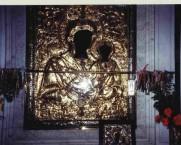 Myrtidiotissa Church. Icon, with amulets.