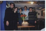 Vince Kalokerinos and family.