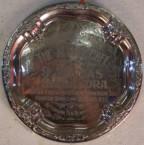 Silver Platter. ABC Cafe, Gilgandra. Stavros (Stan) Baveas. 1920's.