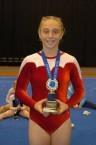Stephanie Magiros. Champion gymnast.