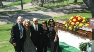 At the funeral of Uncle Pete Clentzos