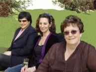 Robyn Florance, Kyriaki Orfanos (nee, Mavromattes), &  Alice Conomos (nee, Tzannes) at....