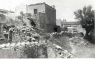 Walls around the Gavrilis home Logethetianika