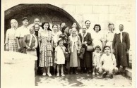 Chlentzos family visit to Kythera in 1955