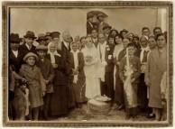 The wedding of Stamatoula Mavromatis and Angelo Panagiotis Chlentzos 1931