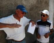 Architect Elias Vassiliadis, and Building Supervisor, Refaat Khalil