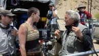 Charlize Theron with director George Miller. Photo Jasin Boland Warner Bros. Entertainment Inc