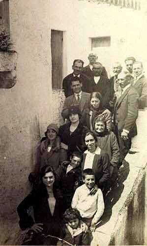 On the steps of Papoo's house - 1929 Logothetianica