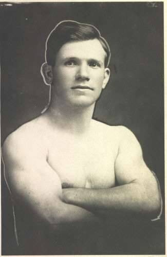 John D. Gavriles- Wrestler in Chicago in the Teens