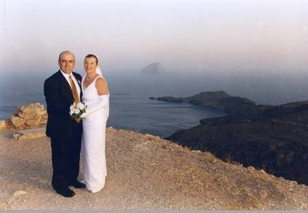 Wedding photo of Spiro and Maria Coolentianos